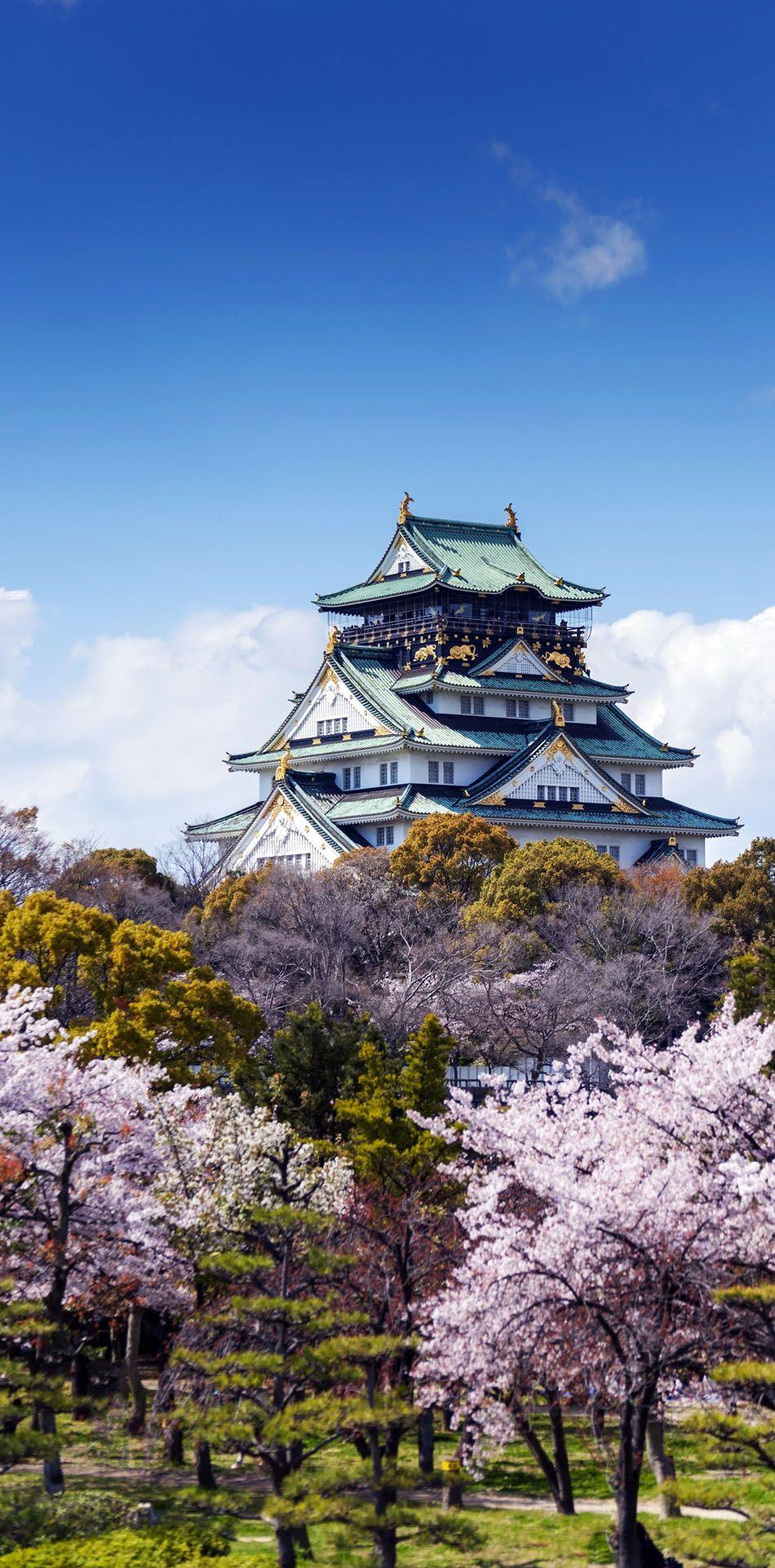 Amazing View of Osaka Castle, Japan. Best Destination Fun Trip DIY Tutorial Save Money on trips Cheap Destination
