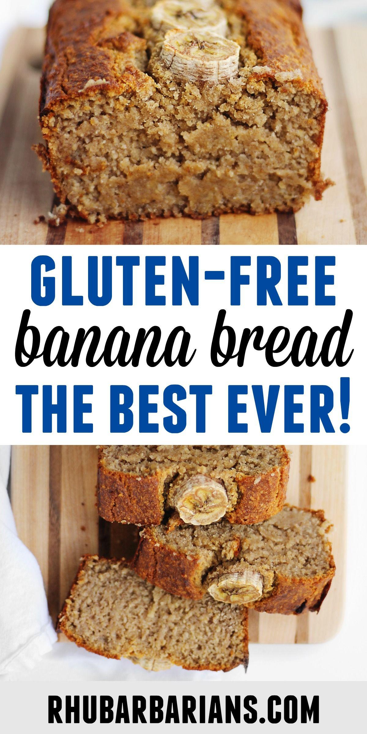 The Best Vegan Oat Flour Banana Bread Rhubarbarians Recipe In 2020 Vegan Banana Bread Recipe Baking Items Gluten Free Banana Bread