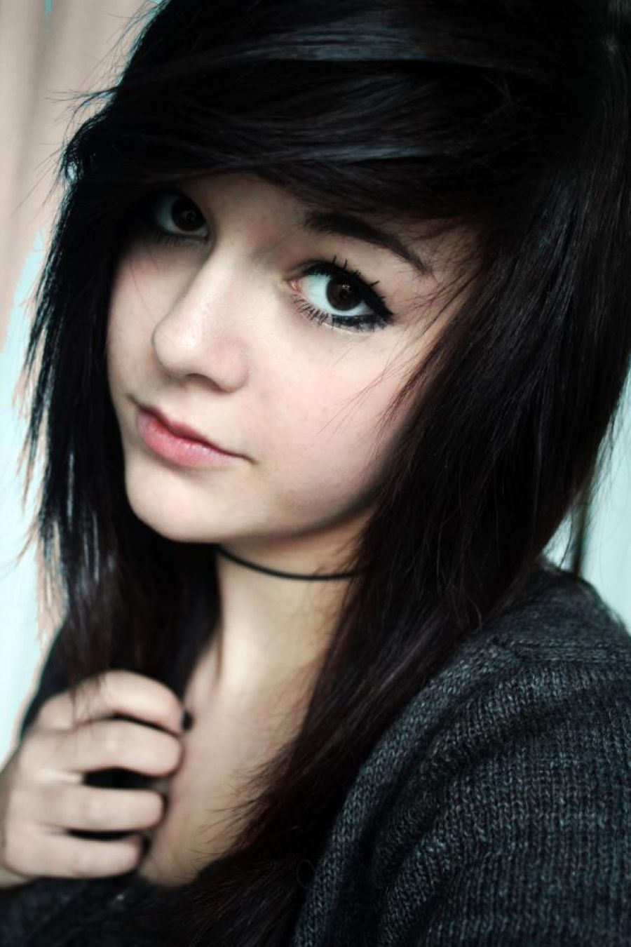 Latest Emo Hairstyles Pictures Supernatural Addiction