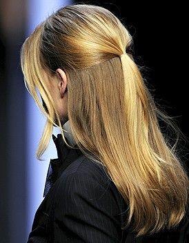 Les 50 coiffures rapides à faire pour les pressées du