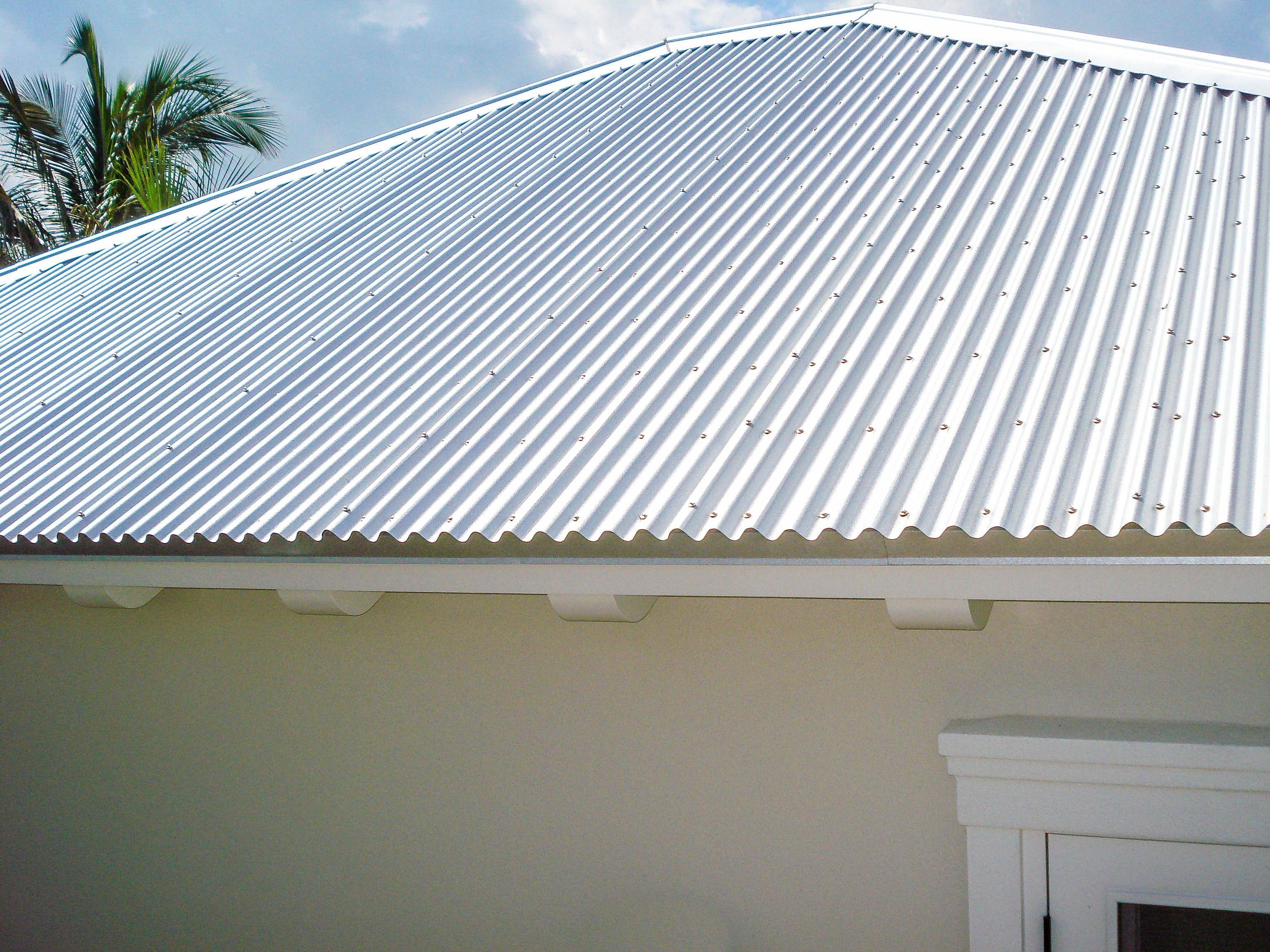Corrugated Metal Roof Fabricated And Installed By Mullet S Aluminum Products Inc Corrugated Metal Roof Metal Roofing Systems Metal Roof