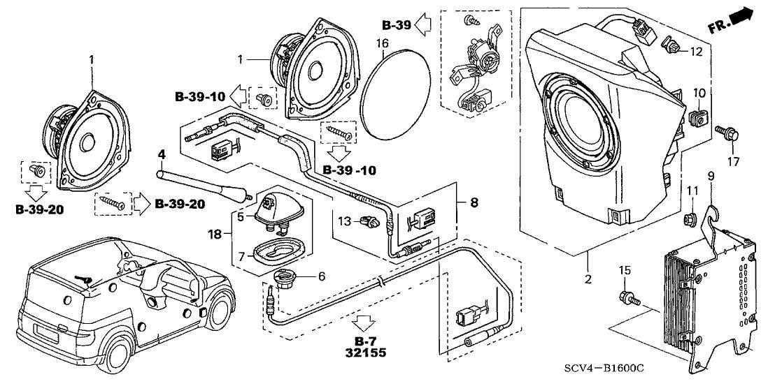 Speedway Motor  Honda Element Parts Diagram