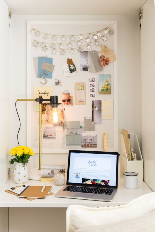 Briar from Sunday Collector shares her small home office
