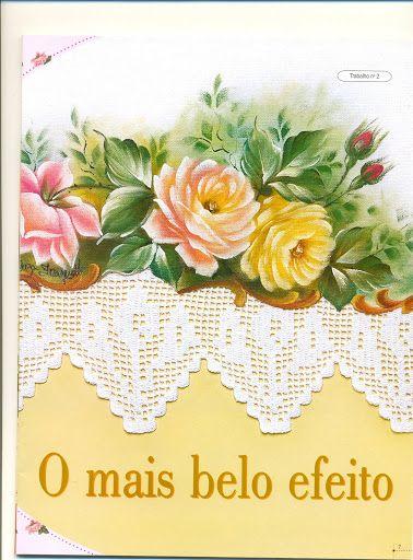 Revista pintura e croche nº 19 - Isabel Cristina Mejia - Álbuns da web do Picasa