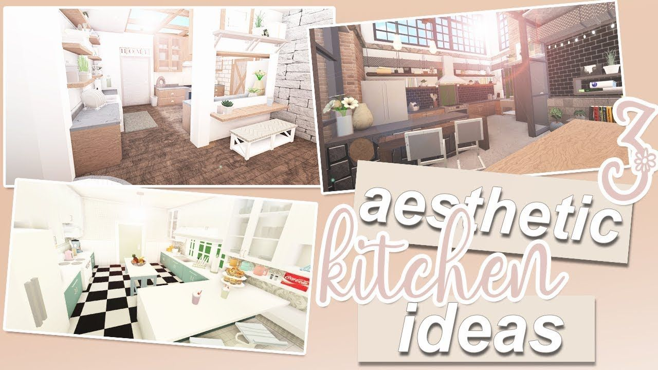 3 Aesthetic Kitchen Ideas Roblox Bloxburg Tiny House Layout Luxury House Plans Home Building Design