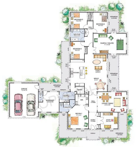 The Franklin Floor Plan Download A Pdf Here Paal Kit Homes Offer Easy To Build Steel Frame Kit Homes For The Owner Dream House Plans Floor Plans Kit Homes