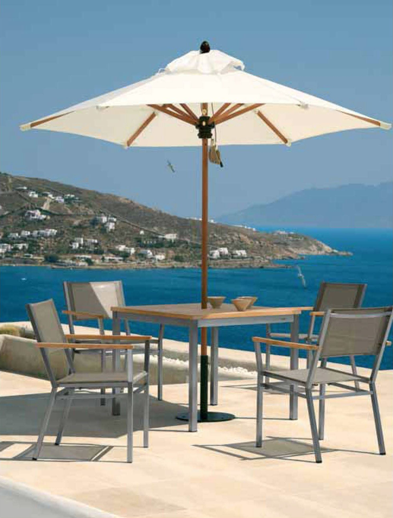 Barlow tyrie use two grades of stainless steel 316 grade commonly known as marine grade and 304 grade more commonly used for garden furniture bo