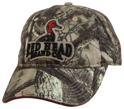 Redhead camo hats
