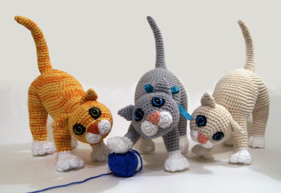 Cat Amigurumi Tutorial | Beginner Crochet | Kitty Mod Free Pattern ... | 392x570