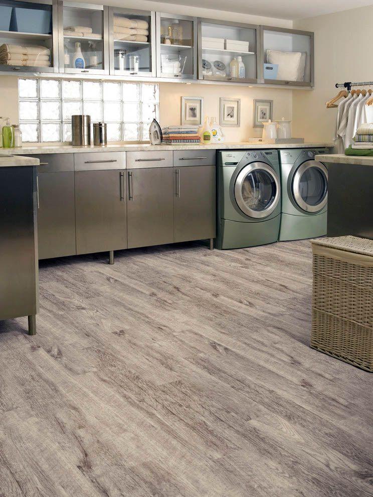 Advanced waterproof vinyl plank flooring click together
