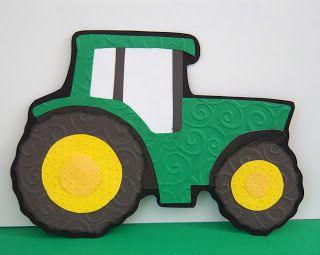 Shoregirl's Creations: Tractor Paper Piecing