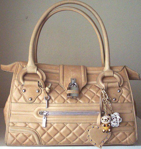 Glitzy Jewels Green Teddy Bear Swarovski Crystal Handbag Charm Keyring