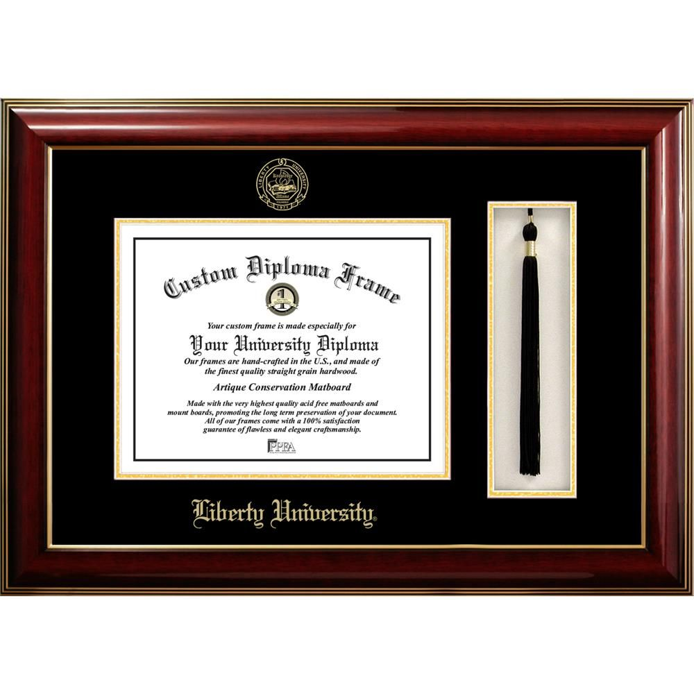 Liberty University Classic Diploma and Tassel Box Frame | Wish List ...