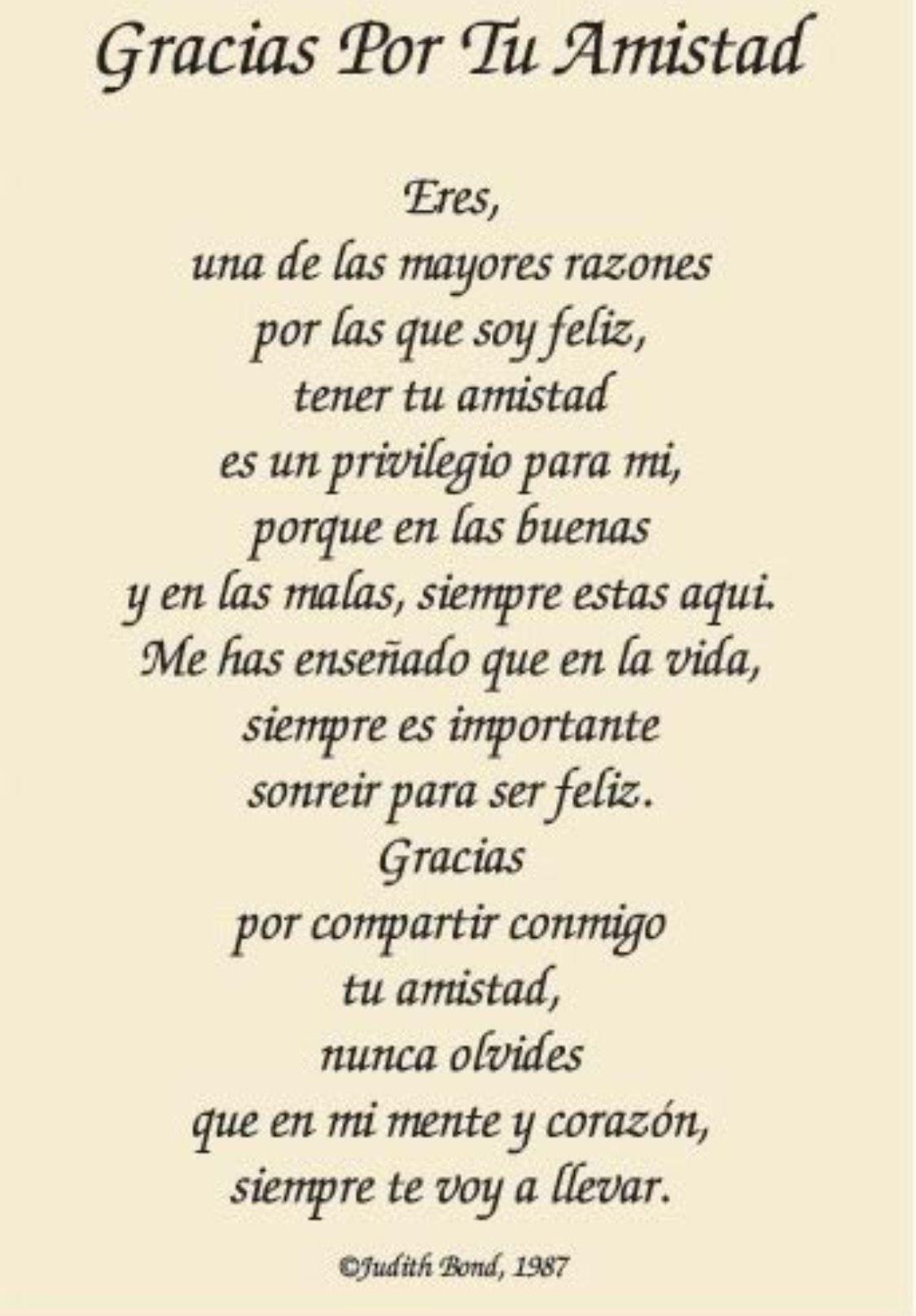 Dedicado A Mi Mejor Amigo Amigas Frases Poemas Para Un