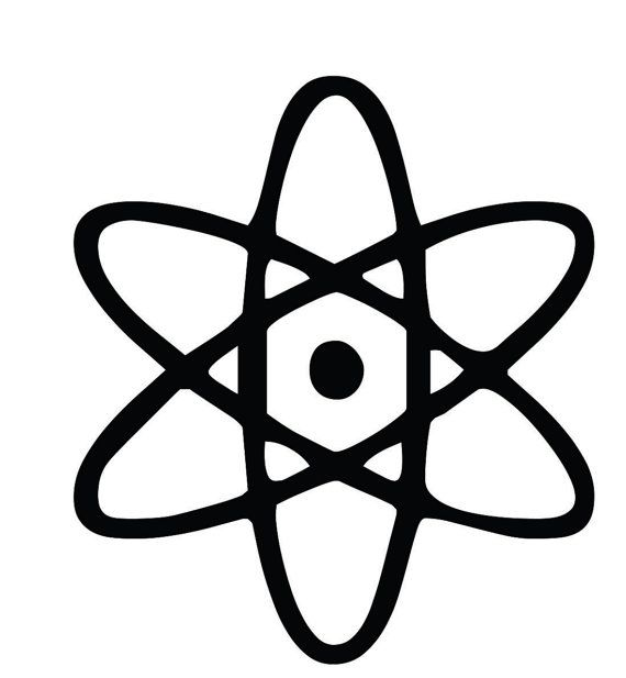 Big Bang Theory Logo Custom Vinyl Graphic Decal By Vinylgrafix