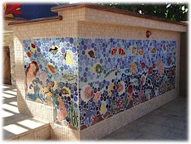 Outdoor Decorative Tiles For Walls Decorative Ceramic Tile Custom Hand Made Tile  Tiles With Style