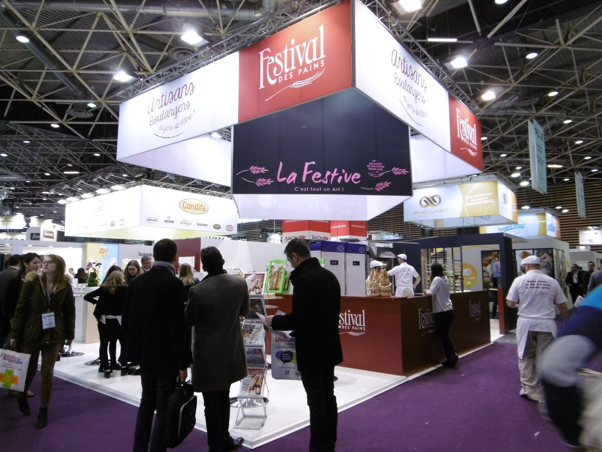 Salon sirha 2017 lyon eurexpo stand festival des pains for Salon eurexpo lyon