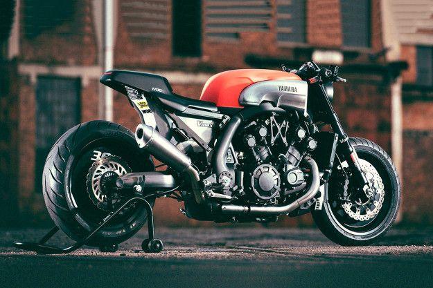 Custom Yamaha VMAX Built By JvB Moto Of Germany