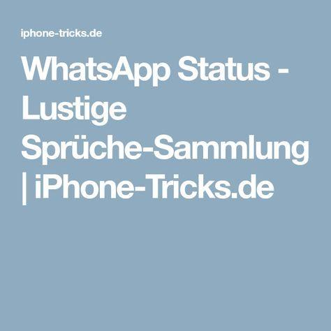 Whatsapp Status Lustige Sprüche Sammlung Iphone Tricks