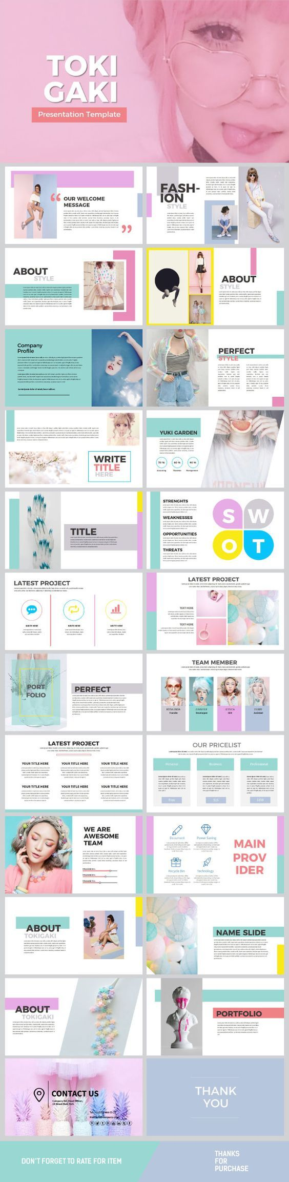 Tokigaki powerpoint template web design pinterest tokigaki powerpoint template toneelgroepblik Image collections