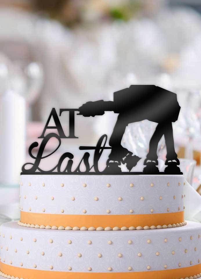 At last atat imperial walker star wars wedding cake topper walker at last atat imperial walker star wars wedding cake topper junglespirit Images