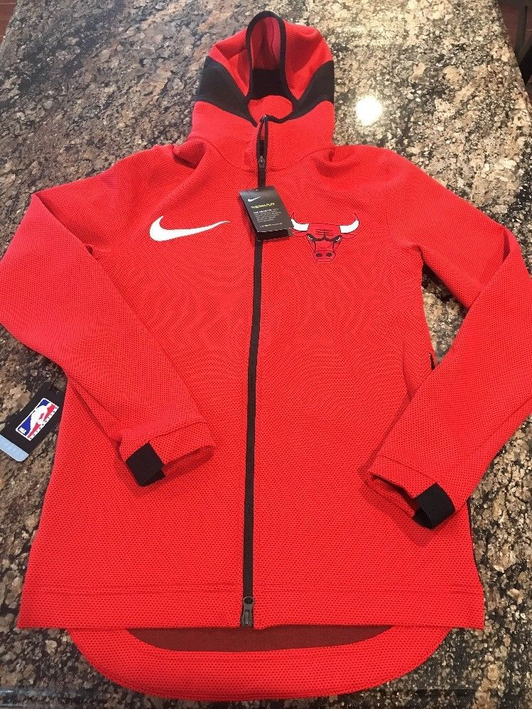 860f475dd Nike NBA Therma Flex Showtime Hoodie Chicago Bulls Men s Size Small  899830-657  Nike  ChicagoBulls