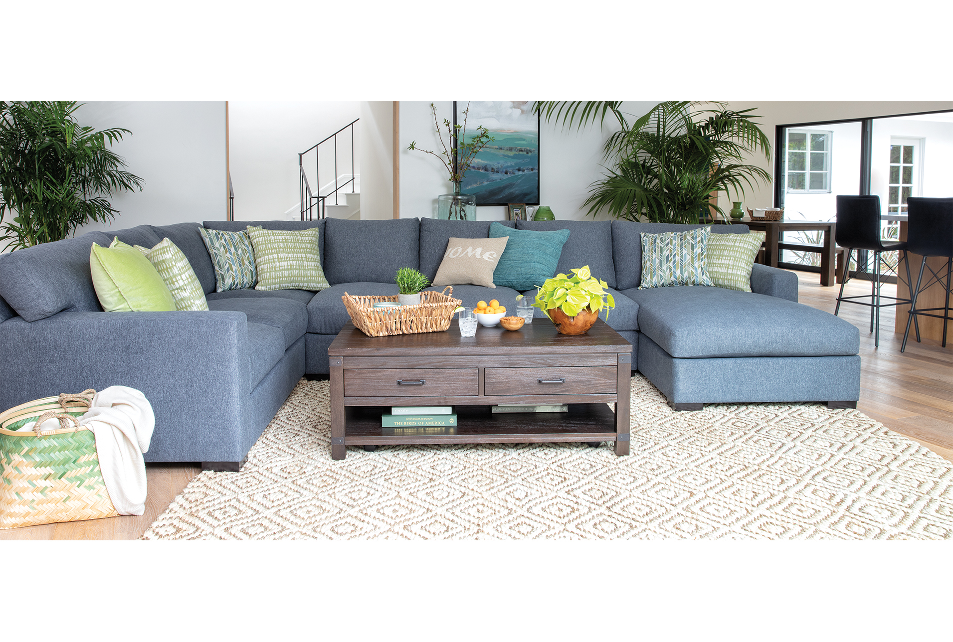Best Mercer Down 3 Piece Sectional Affordable Living Room 400 x 300