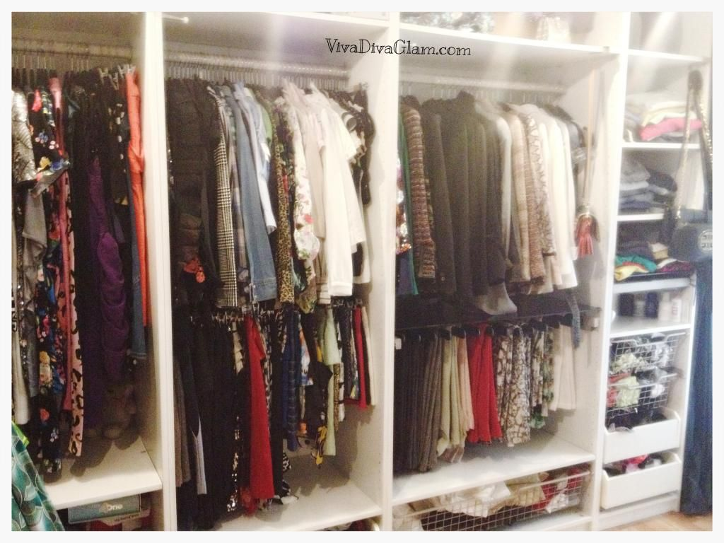 My Closet Setup: The Good, The Bad, U0026 The Ugly : )