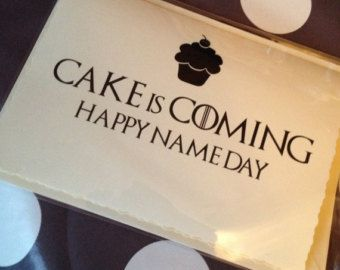 Game of thrones birthday card google search diy tarjetas game of thrones birthday card google search bookmarktalkfo Image collections