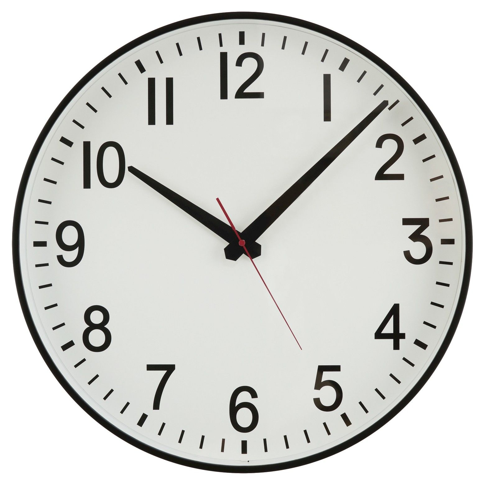 20 Wall Clock Black White Threshold Wall Clock Clock