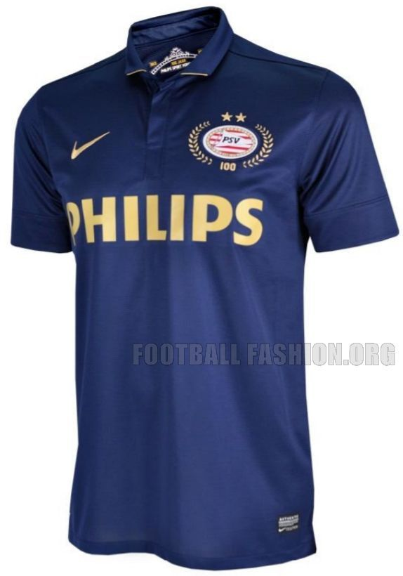 0b12f7d0d PSV Eindhoven Nike 100th Anniversary 2013/14 Away Football Kit / Soccer  Jersey / Uitshirt / Jubileumtenue