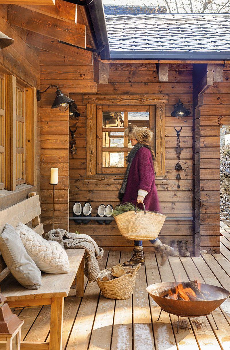 Amenajare Scandinavă Intr O Cabană De Lemn Din Spania Jurnal De Design Interior Rustic Home Design Rustic Cabin Rustic House