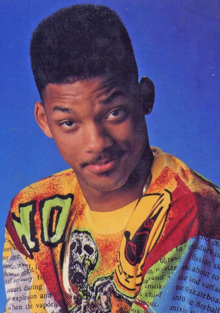 Will Smith As The Fresh Prince Of Bel Air Aired From 1990 1996