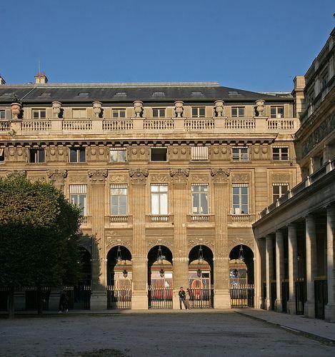 palais royal paris | paris 1900 | pinterest | paris, fotos und, Innenarchitektur ideen