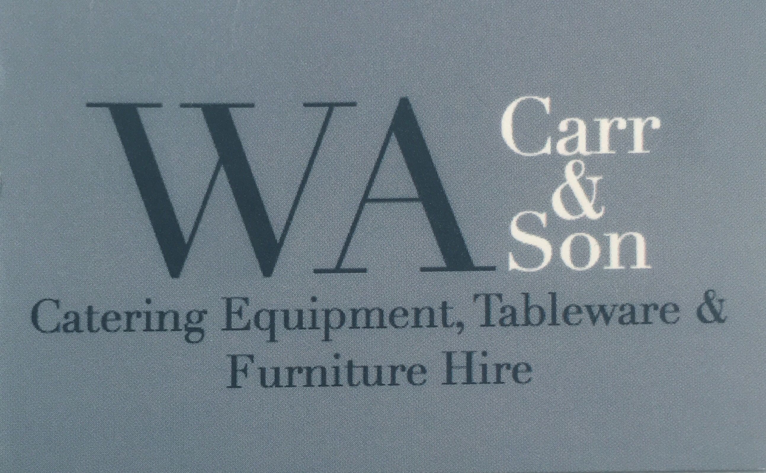 WA Carr & Son joins the WD3 Foodies Team