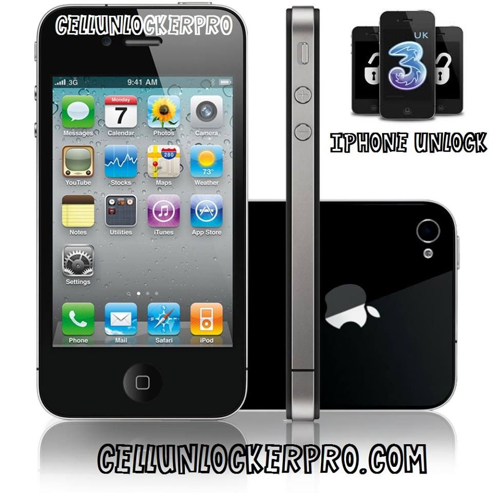 how to unlock iphone 4 without itunes