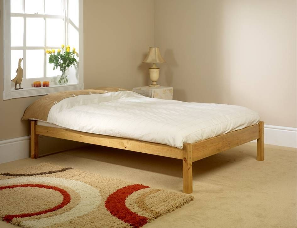 Fashionable Double Studio Bed Frame. Being Low At Both Ends Makes It An  Ideal Bed