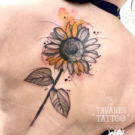 Photo of Beste Blumen-Design Tattoo Zeichnung-Aquarell 47 Ideen