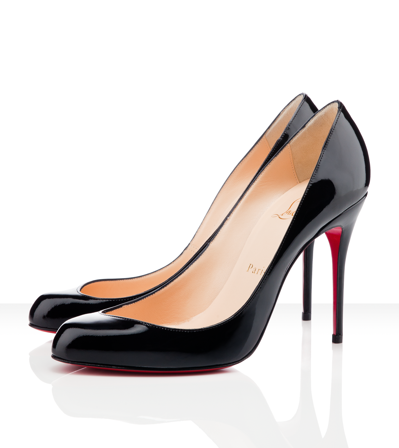 Discount Christian Louboutin Maudissima Patent Leather Pumps no sale : Christian  Louboutin Online Shop! [basic 1 view from side]