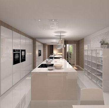 C mo iluminar la cocina cocinas crear y dise o de cocina - Como iluminar una cocina ...