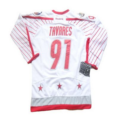best website 204b6 6ca66 2012 NHL all star #91 John Tavares white jerseys | NHL 2012 ...