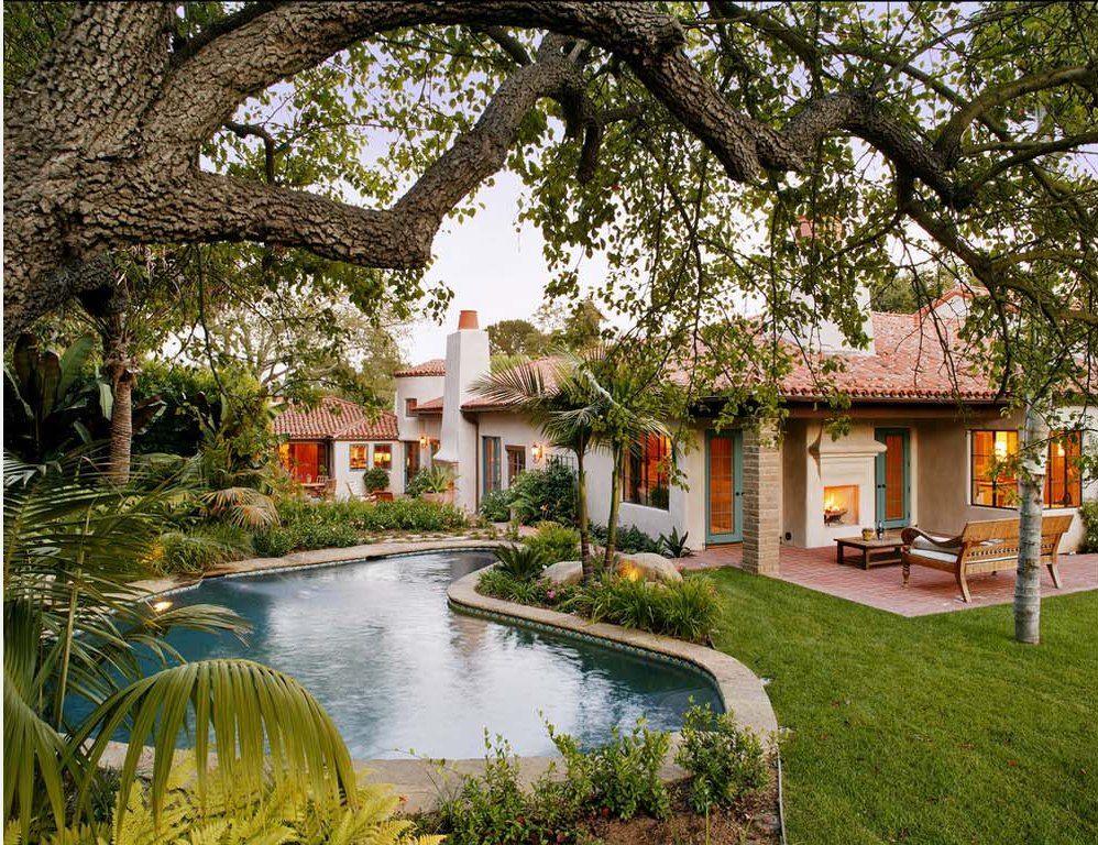 Courtyard Pool Home Plan Amazing Home Decoration Interior Design