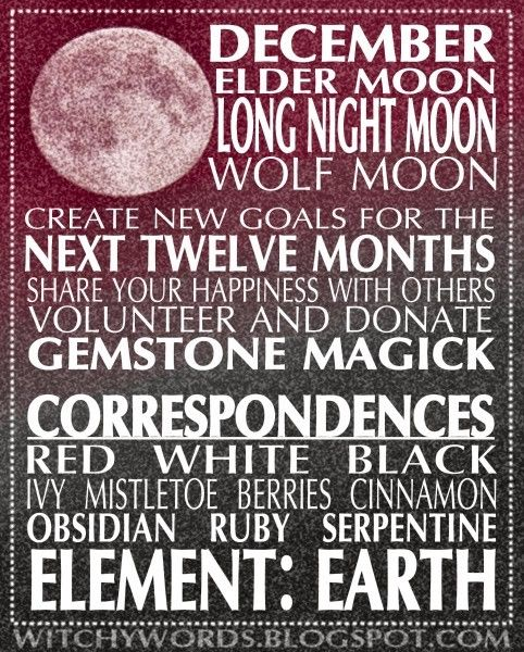 December Full Moon #fullmoonquotes