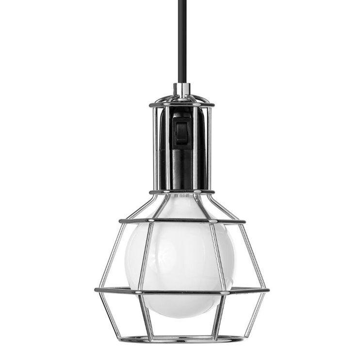 Work Lamp Lampe Baladeuse H21cm Chrome Design Stockholm House