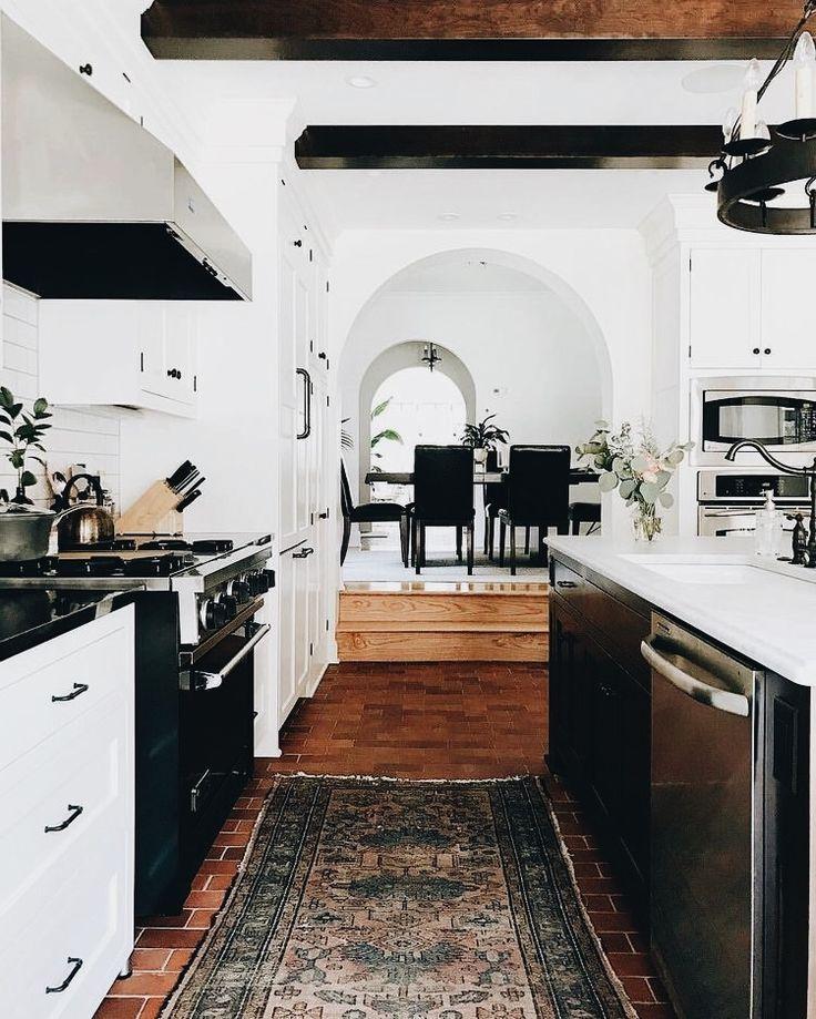 Black Kitchen Floor Runner: Pin By Jennifer On Home Decor + Design