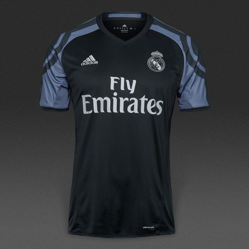 Adidas Real Madrid 16 17 3rd Shirt Mens Replica Shirts Black Super Purple Pro Direct Soccer Real Madrid Soccer Inspiration Soccer Jersey