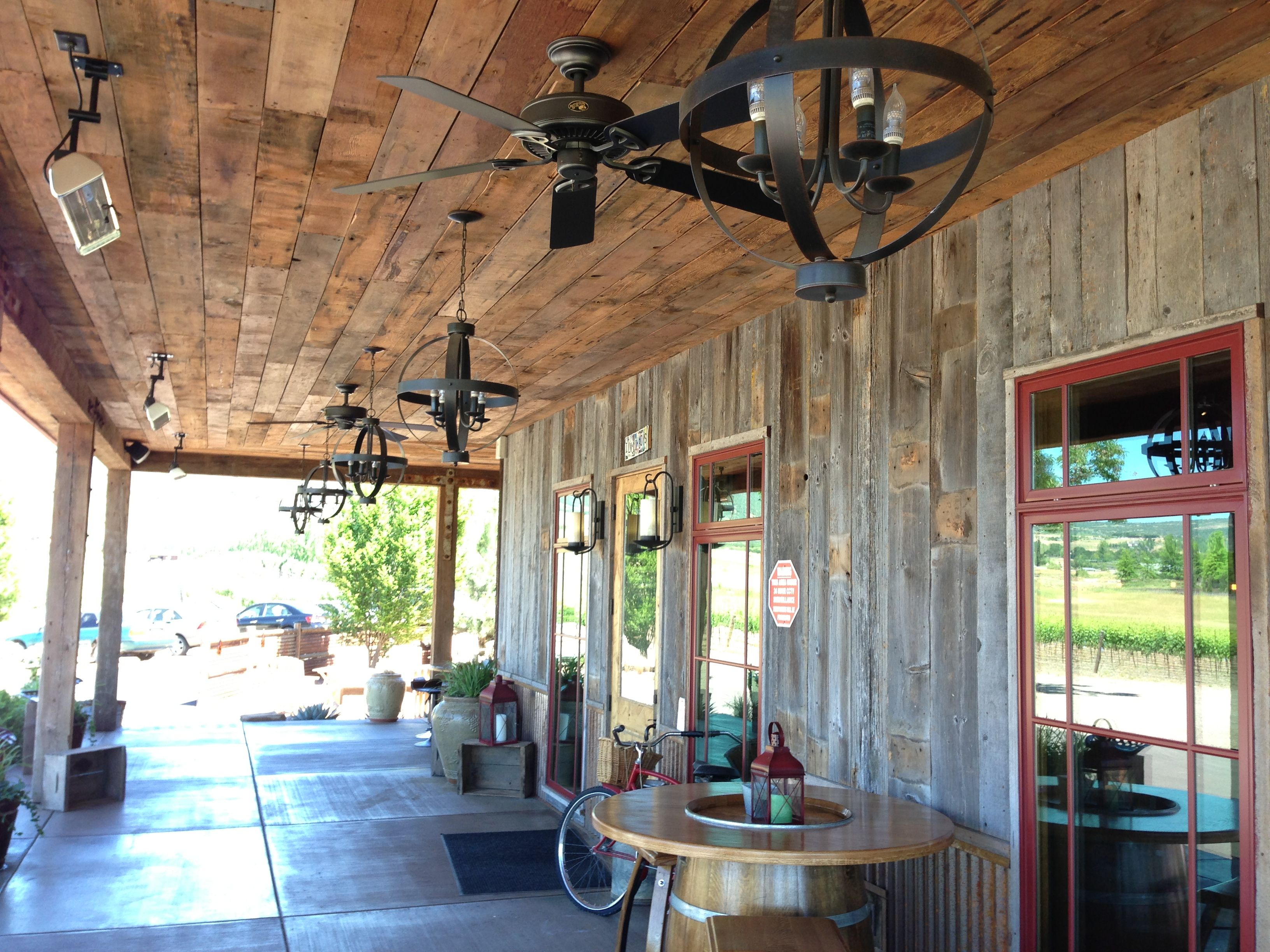 Barn Wood Porch Ceiling Harry S Back Porch Quot Hangar