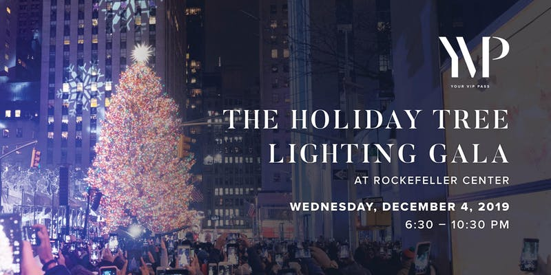 Rockefeller Center Christmas Tree Lighting Holiday