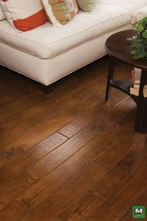 Floors Of Distinction Rapid Loc Hand Sed Acacia Engineered Hardwood Flooring Is A Diyer S