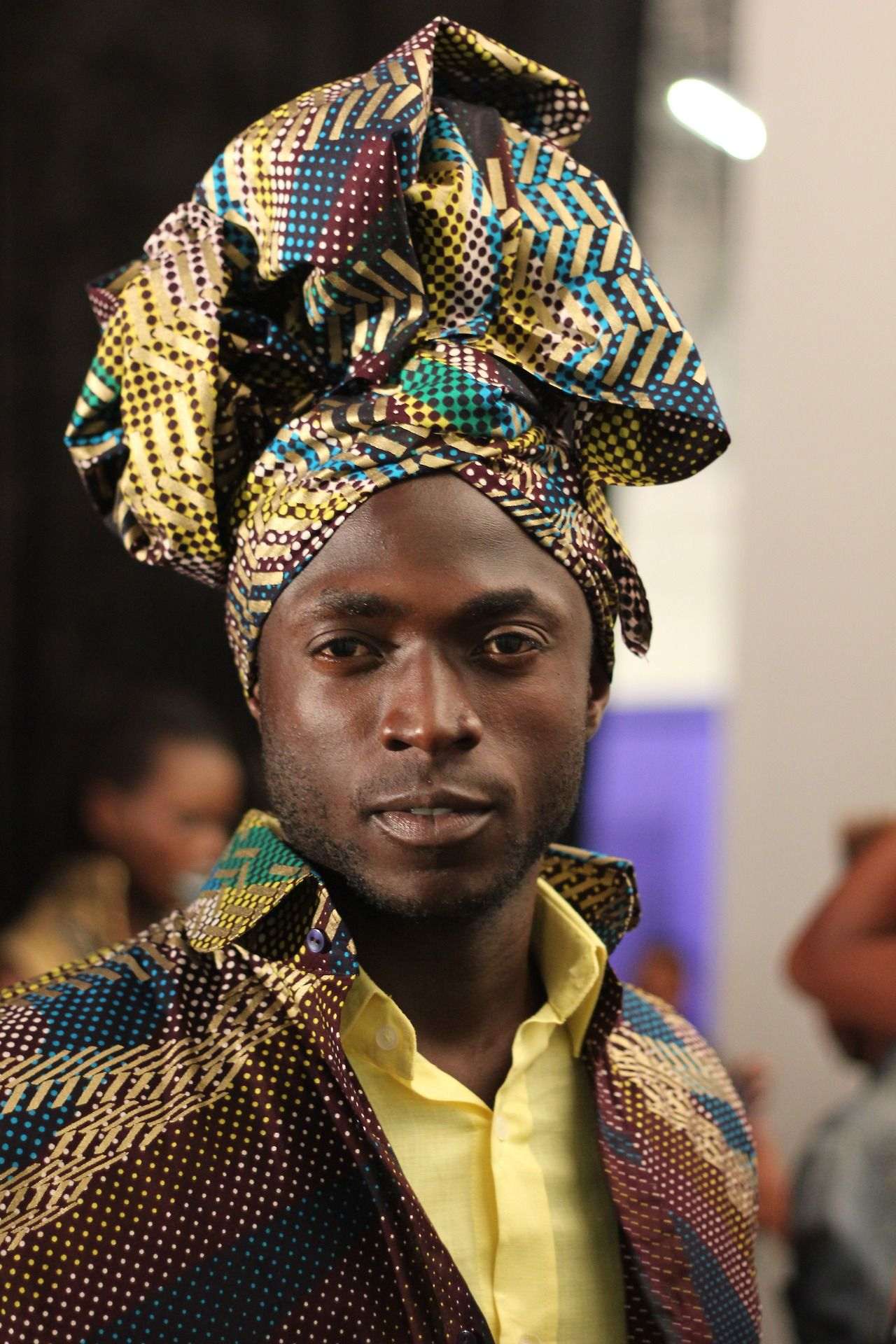 Stuurmanstylediary Today. Backstage At The... | African Portrait U00a9 | Pinterest | Africaine ...